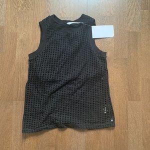 Black crop top, never worn
